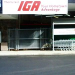 Progress Paving for IGA